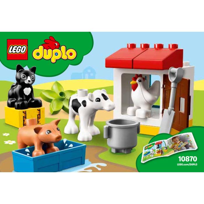 Lego Farm Animals Set 10870 Instructions Brick Owl Lego Marketplace