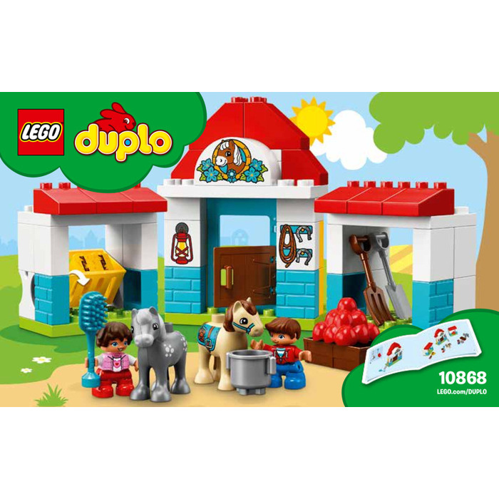 Lego Farm Pony Stable Set 10868 Instructions Brick Owl Lego