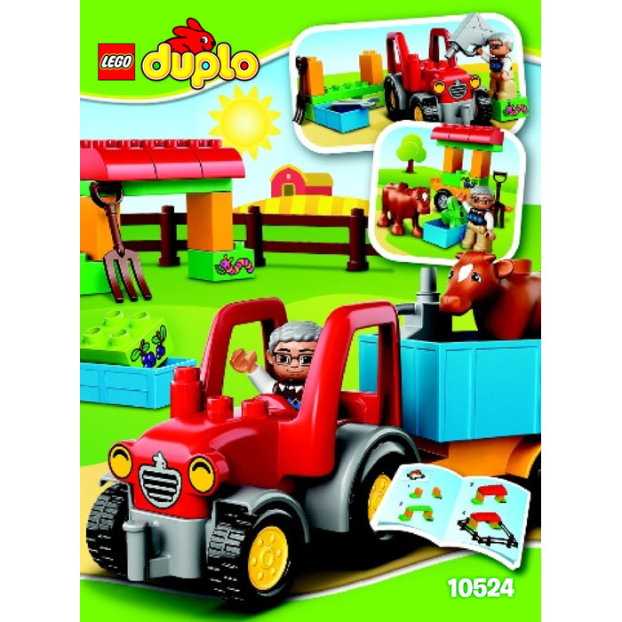 Lego Farm Tractor Set 10524 Instructions Brick Owl Lego Marketplace