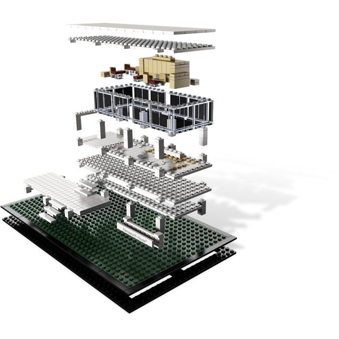 Lego farnsworth house set 21009 brick owl lego marketplace for Lego house original