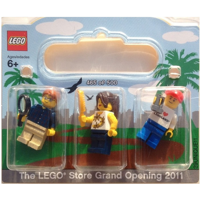 LEGO Fashion Valley Exclusive Minifigure Pack Set SANDIEGO | Brick ...