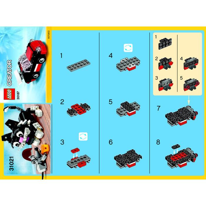 Lego Fast Car Set 30187 Instructions Brick Owl Lego Marketplace