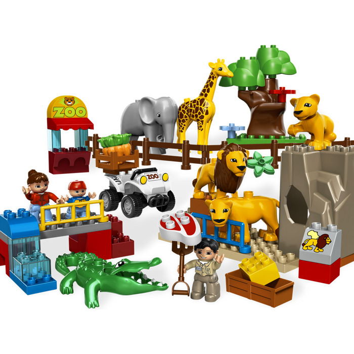 LEGO Feeding Zoo Set 5634 | Brick Owl - LEGO Marketplace