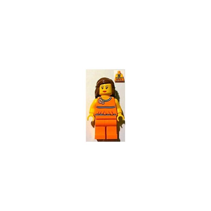 LEGO Female with Orange Top (Alpharetta) Minifigure | Brick Owl ...