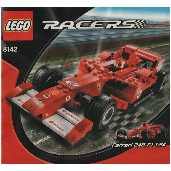 lego ferrari 248 f1 1 24 vodafone version set 8142. Black Bedroom Furniture Sets. Home Design Ideas