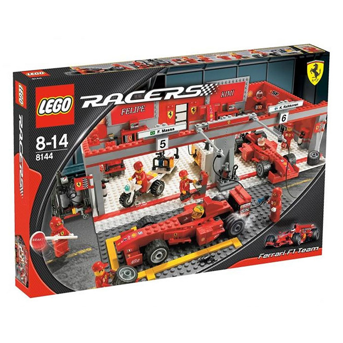 lego ferrari 248 f1 team kimi r ikk nen edition set 8144 2 brick owl lego marketplace. Black Bedroom Furniture Sets. Home Design Ideas