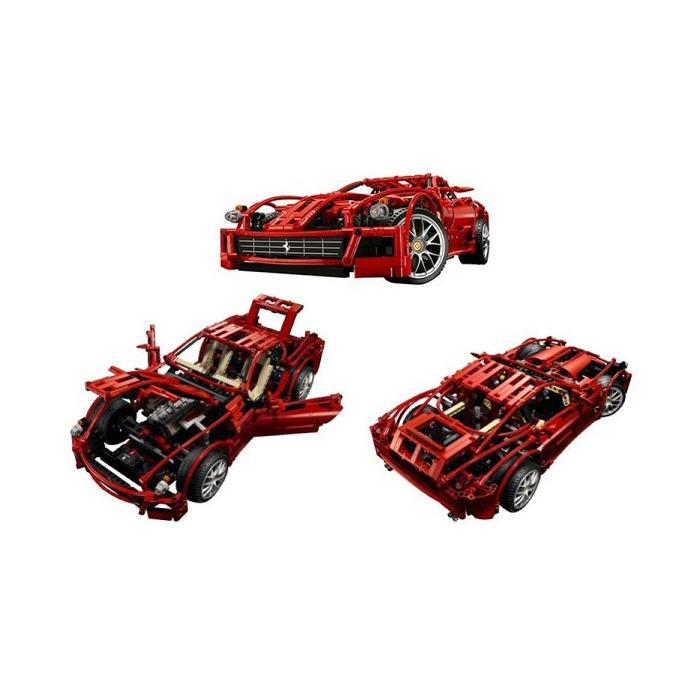 LEGO Ferrari 599 GTB Fiorano 1:10 Set 8145