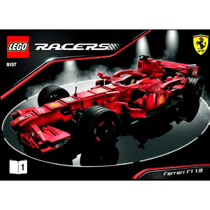 Lego Ferrari F1 1 9 Set 8157 Instructions Brick Owl