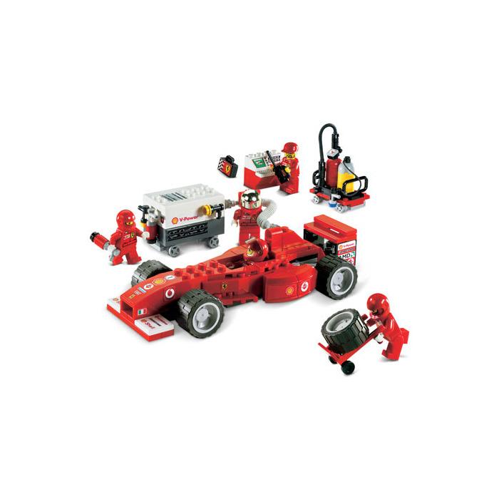 lego ferrari f1 fuel stop set 8673 brick owl lego. Black Bedroom Furniture Sets. Home Design Ideas