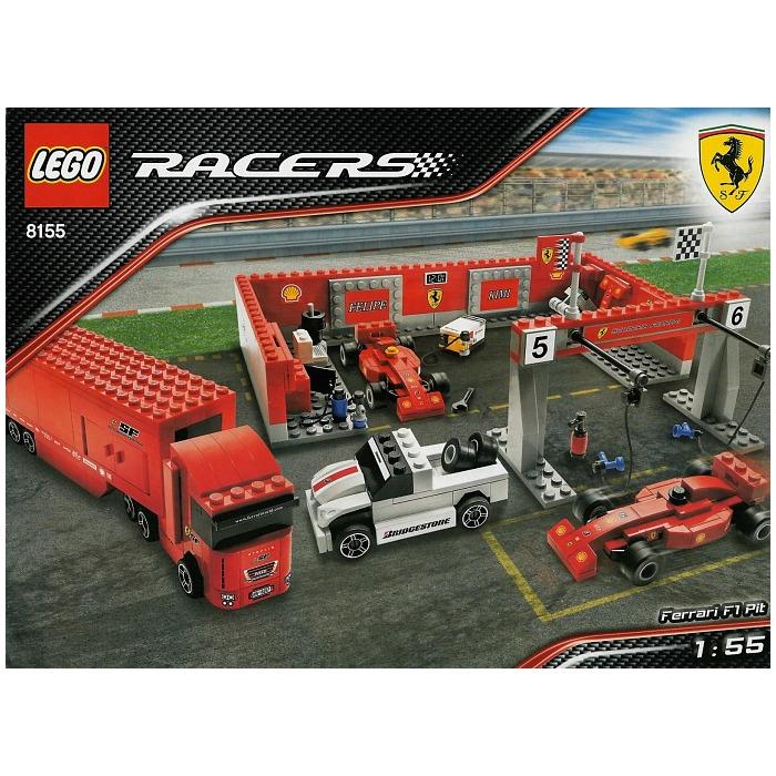 Lego Ferrari F1 Pit Set 8155 Brick Owl Lego Marketplace
