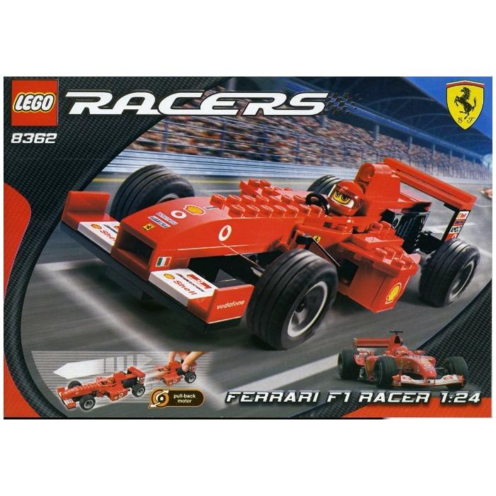 lego ferrari f1 racer set 8362 brick owl lego marketplace. Black Bedroom Furniture Sets. Home Design Ideas