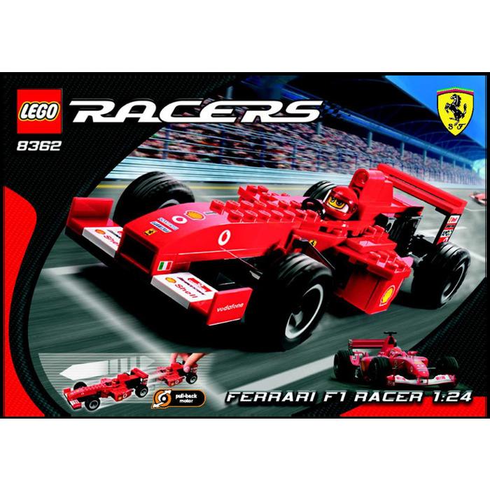 Lego Ferrari F1 Racer 8362 Instructions Brick Owl Lego Marktplatz