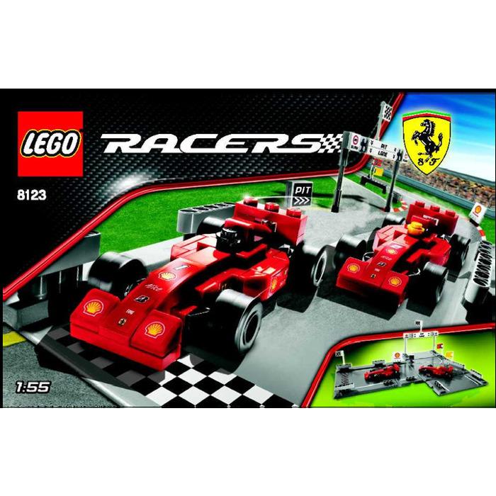 lego ferrari f1 racers set 8123 instructions brick owl. Black Bedroom Furniture Sets. Home Design Ideas