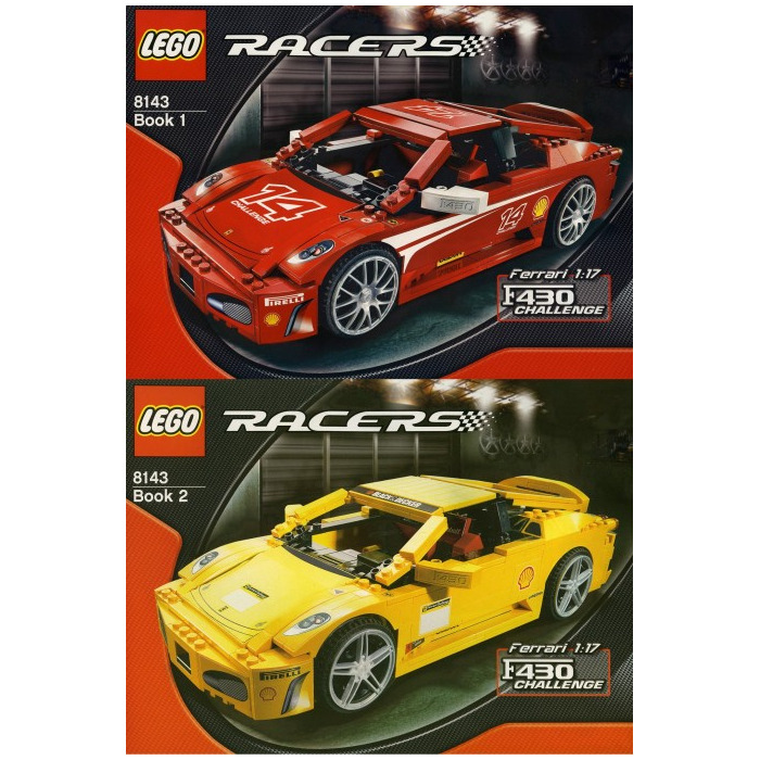 Lego Ferrari F430 Challenge 1 17 Set 8143 Brick Owl