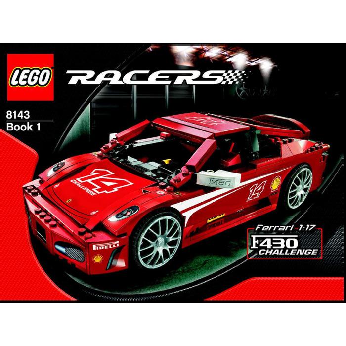 LEGO Ferrari F430 Challenge 1:17 Set 8143 Instructions