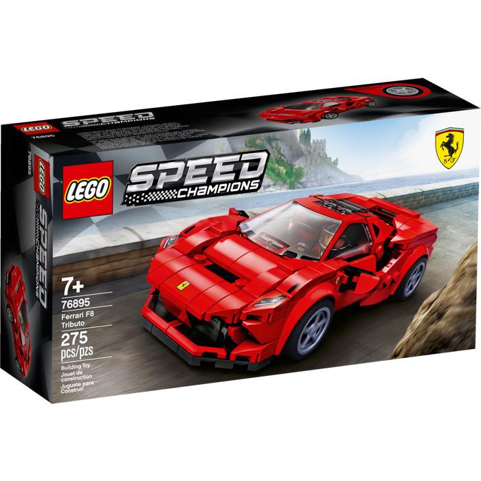 Ferrari F8 Tributo Colors: LEGO Ferrari F8 Tributo Set 76895 Packaging