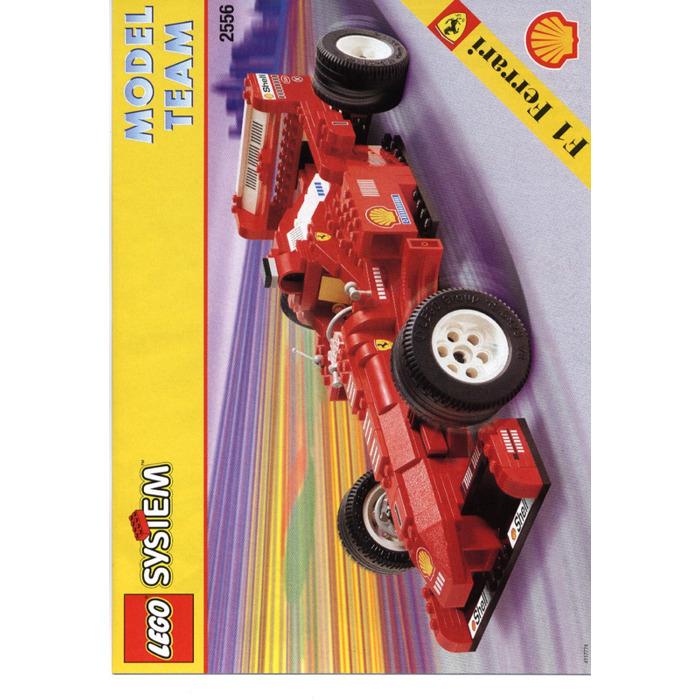 Lego Ferrari Formula 1 Racing Car Set 2556 Instructions Brick Owl