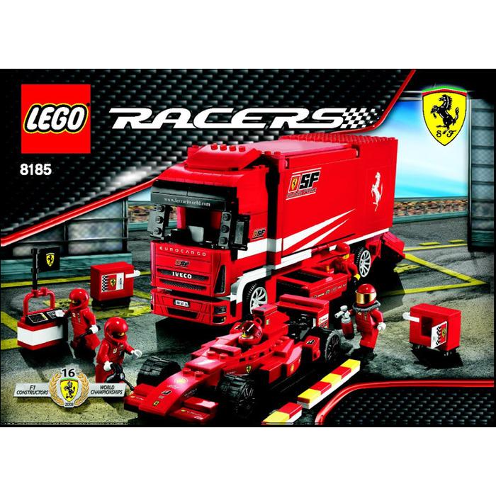lego ferrari truck set 8185 instructions brick owl. Black Bedroom Furniture Sets. Home Design Ideas