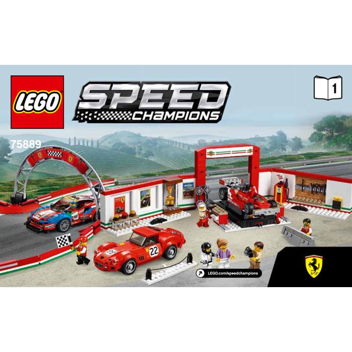 Lego Ferrari Ultimate Garage Set 75889 Instructions Brick Owl