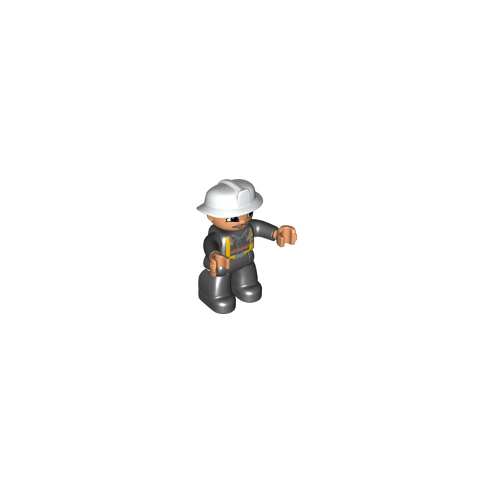 LEGO Figure - Fireman Fred Duplo Figure Comes In