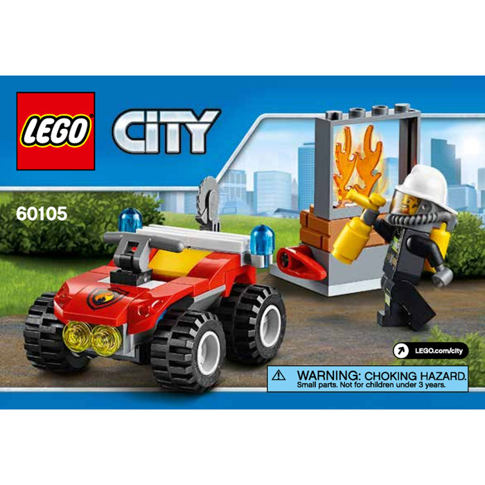 Lego Fire Atv Set 60105 Instructions Brick Owl Lego Marketplace