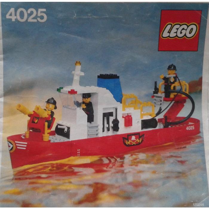 Lego Fire Boat Set 4025 Instructions Brick Owl Lego Marketplace