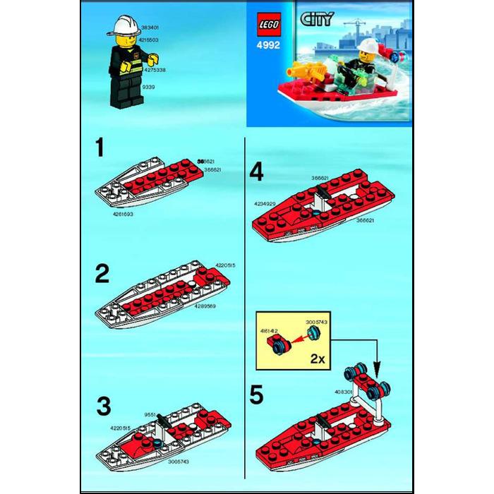 конструкторы лего инструкции лодок
