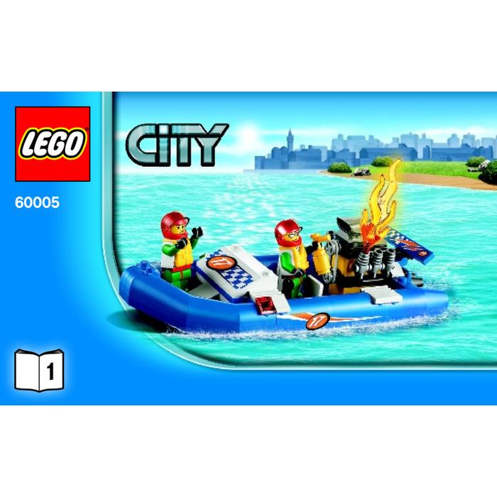 Lego Fire Boat Set 60005 Instructions Brick Owl Lego Marketplace