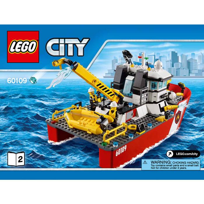 Lego Fire Boat Set 60109 Instructions Brick Owl Lego Marketplace