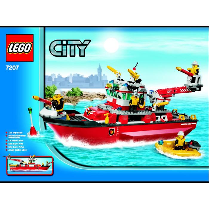 Lego Fire Boat Set 7207 Instructions Brick Owl Lego Marketplace