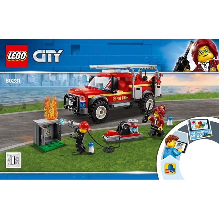 LEGO Fire Chief Response Truck Set 60231 Instructions