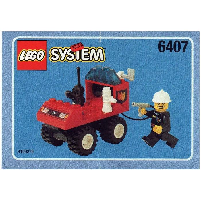 LEGO Fire Chief Set 6407