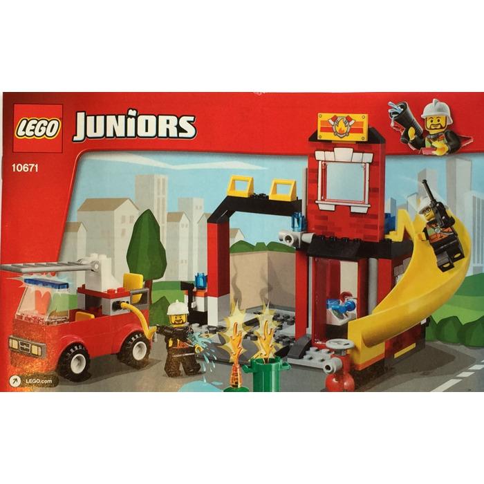 Lego Fire Emergency Set 10671 Instructions Brick Owl Lego