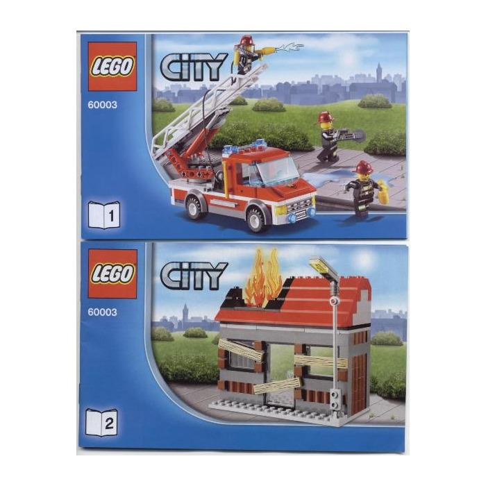 Lego Fire Emergency Set 60003 Instructions Brick Owl Lego