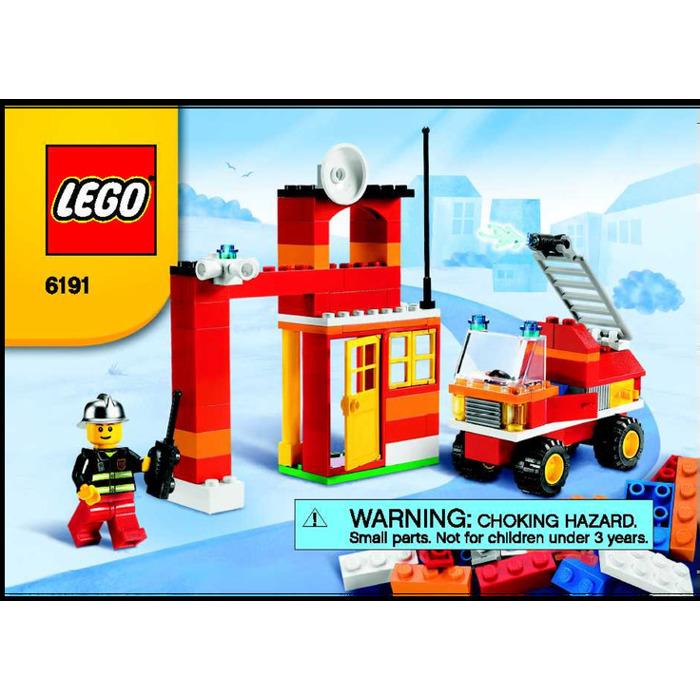 Lego Fire Fighter Building Set 6191 Instructions Brick Owl Lego