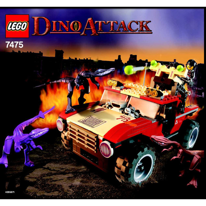 Lego Fire Hammer Vs Mutant Lizards Set 7475 Instructions Brick