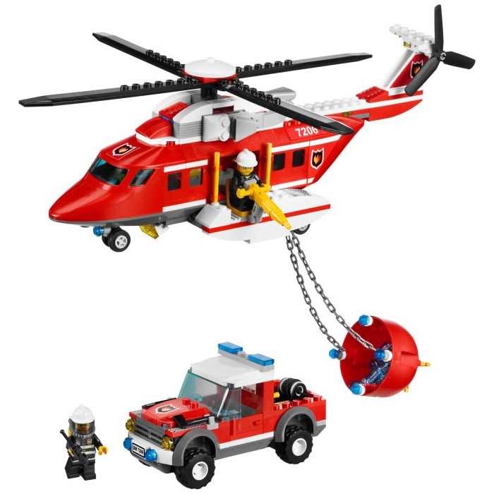 LEGO Fire Helicopter Set 7206