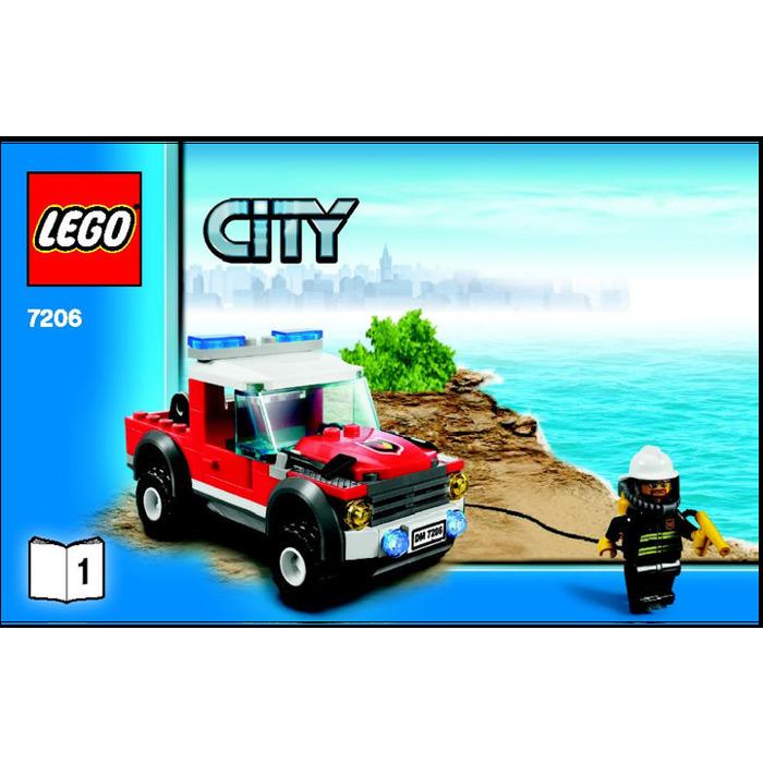 Lego Fire Helicopter Set 7206 Instructions Brick Owl Lego