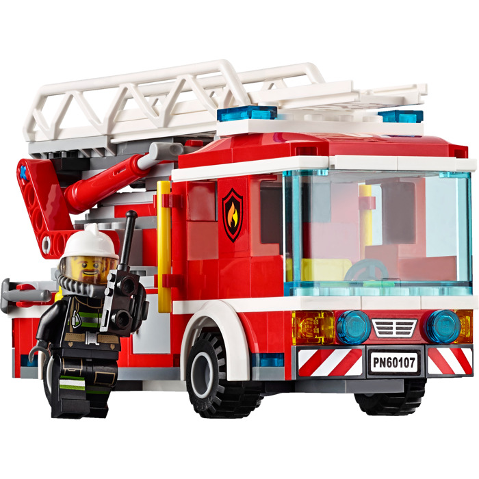Lego Fire Ladder Truck Set 60107 Brick Owl Lego