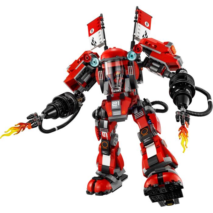 LEGO Fire Mech Set 70615   Brick Owl - LEGO Marketplace