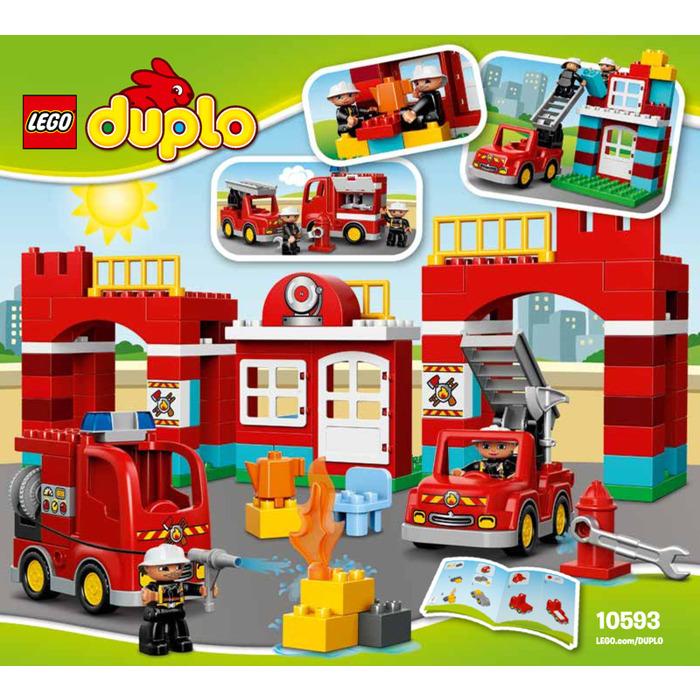 Lego Fire Station Set 10593 Instructions Brick Owl Lego Marketplace