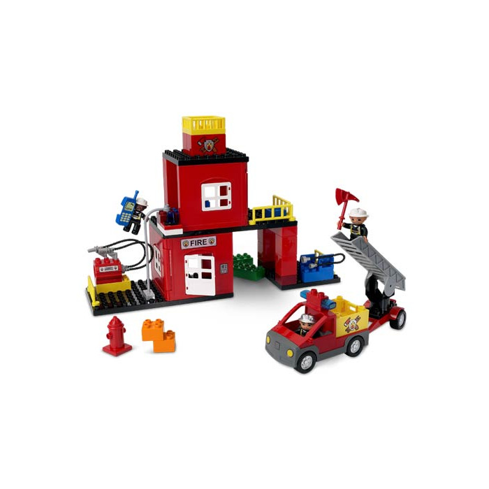 Lego Duplo Fire Station 2018 Images Pictures Lego My First