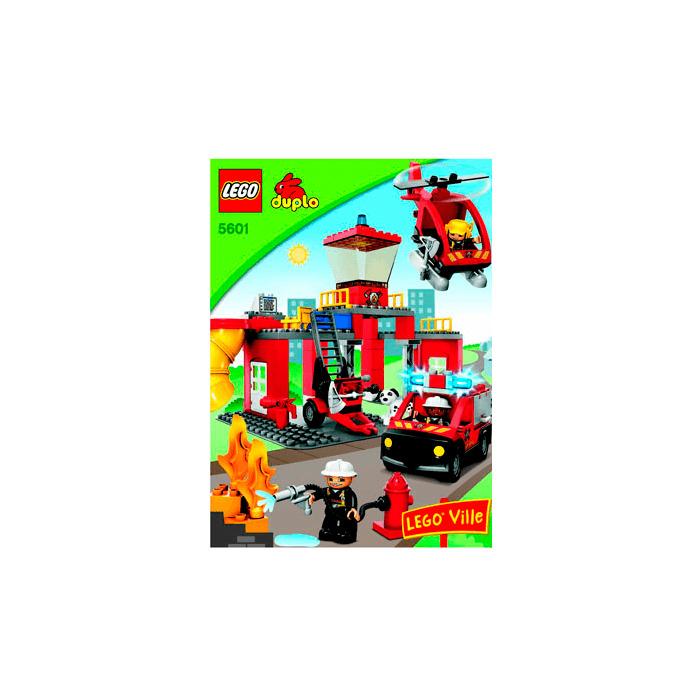 Lego Fire Station Set 5601 Instructions Brick Owl Lego Marketplace