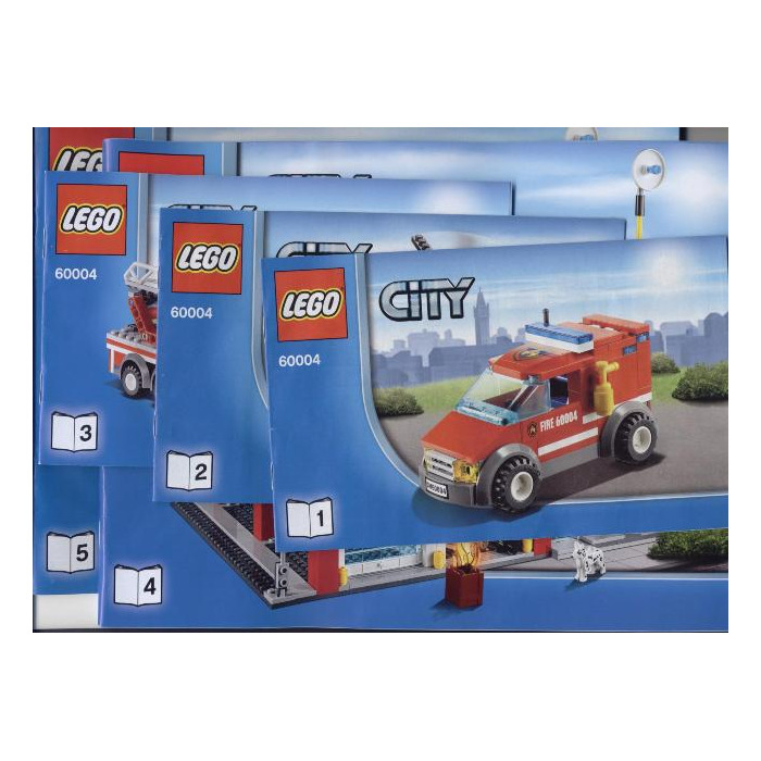 Lego Fire Station Set 60004 Instructions Brick Owl Lego Marketplace