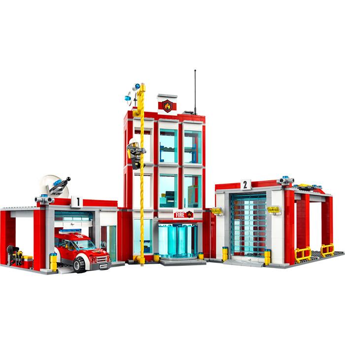 LEGO Fire Station Set 60110 | Brick Owl - LEGO Marketplace