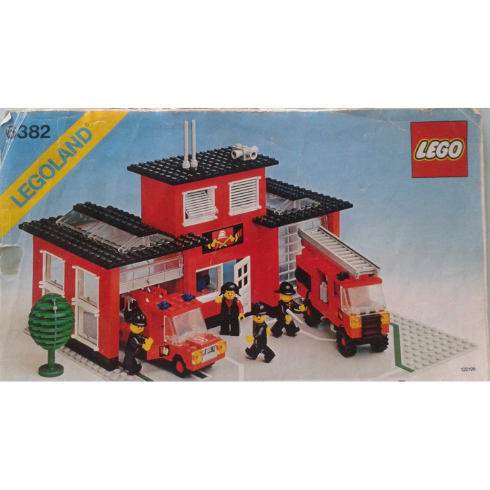 Lego Fire Station Instructions Related Keywords And Tags