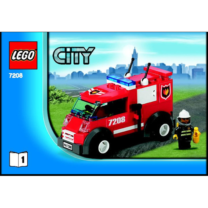 Lego Fire Station Set 7208 Instructions Brick Owl Lego Marketplace