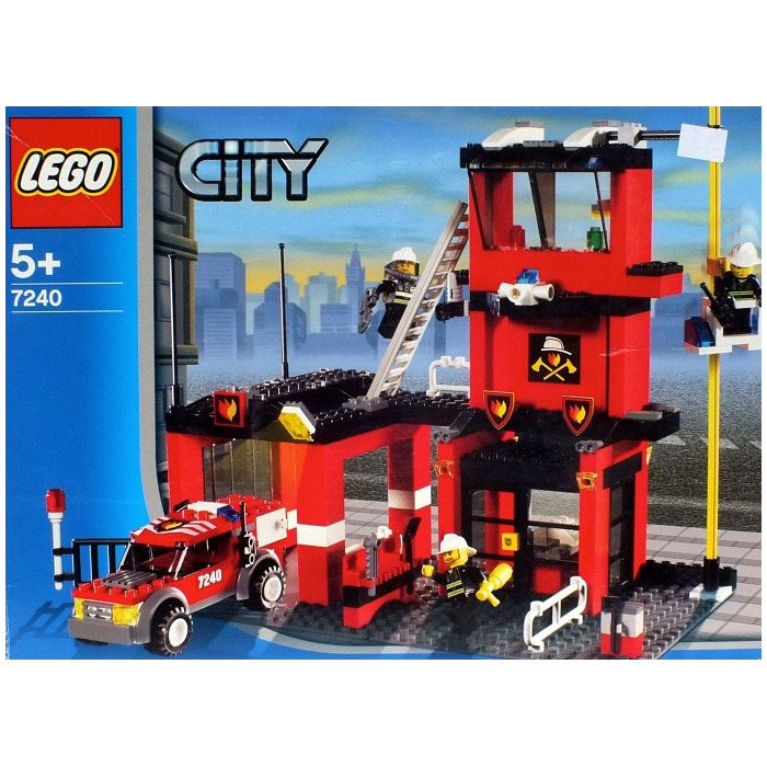 LEGO Fire Station Set 7240