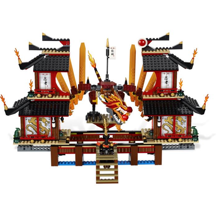 Lego Fire Temple Set 2507 Brick Owl Lego Marketplace