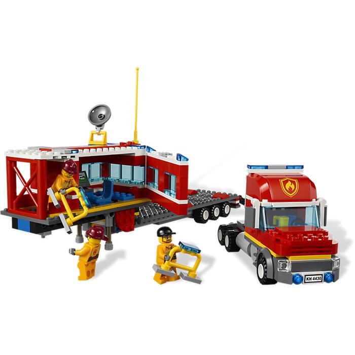 Lego City Powerboat Transporter Instructions